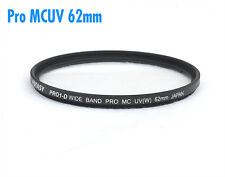 62mm Pro1D Pro 1D MC UV Super Slim Filter CANON Nikon Sony Pentax Sigma Lens