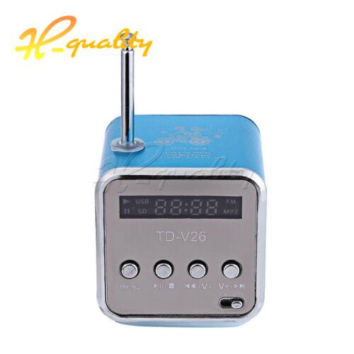 A10 S09 S28 TD-V26 Micro USB Stereo Portable Speaker Music Player FM Radio