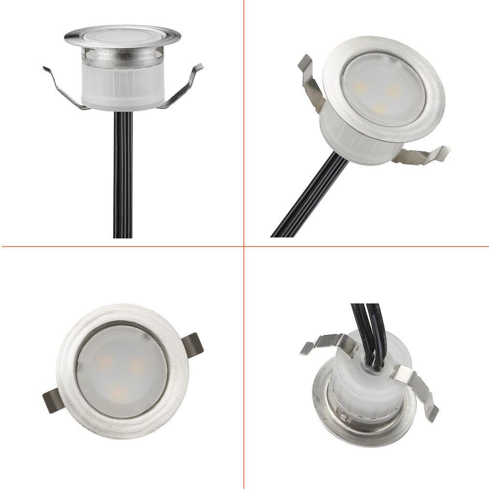 Φ31mm Φ31mm Φ31mm RGB 12V LED Bodeneinbaustrahler Einbauleuchte Terrasse Außen Lampe Spot     | ein guter Ruf in der Welt  | Bekannt für seine gute Qualität  | Sale  3c66ca