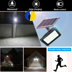 Solar powered 150led dusk to dawn sensor waterproof outdoor security image is loading solar powered 150led dusk to dawn sensor waterproof aloadofball Choice Image