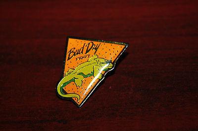 Enamel Hat Lapel Pin Budweiser Bud Dry Draft Iguana or Lizard Sunglasses HTF