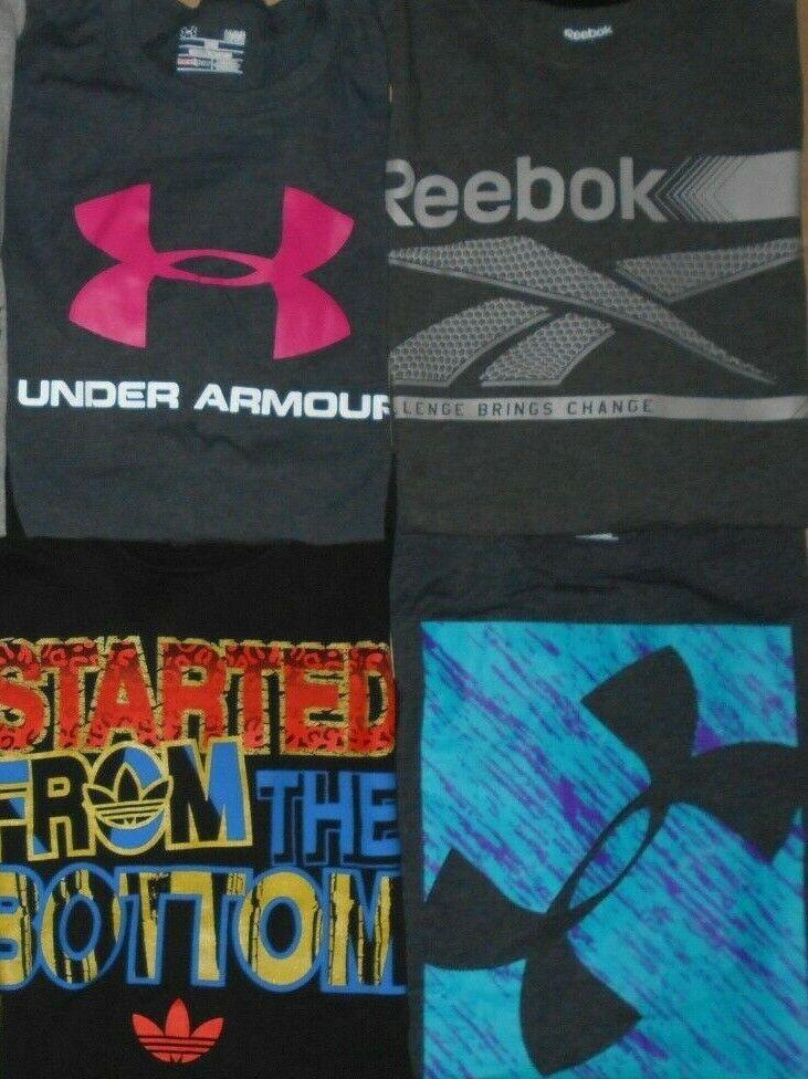 😃Lot 8 Nike Under Armour Reebok Adidas Puma Men … - image 3