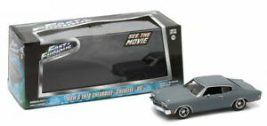 1970-CHEVROLET-CHEVELLE-ss-Dom-presque-amp-furious-1-43-Greenlight-86227-Chevy-and