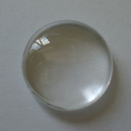 NEW QUALITY CABOCHON CLEAR DOMED GLASS ROUND SQUARE /& OVAL ALL SIZES FLAT BACKED