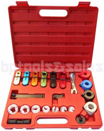 Fuel /& Air Conditioning Disconnection Tool Set Automotive AC Line Hoses Fuel Kit