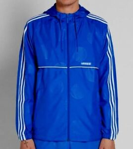 RARE adidas Originals Men s OSAKA OAP HOODED WINDBREAKER JACKET ... d22aa89250