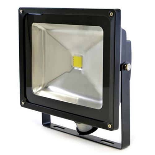 Lloytron L8515 Wall Mountable 50W Equivalent 4000lm LED PIR Floodlight 25cm Cord