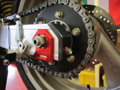 Ducati 851 888 Corsa Monster 900 1000 S4 ST4s Satz Aluschwinge Endkappen Carbon