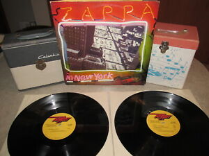 FRANK-ZAPPA-Vinyl-Lp-Promo-Set-ZAPPA-IN-NEW-YORK-Original-1977-U-S-DiscReet
