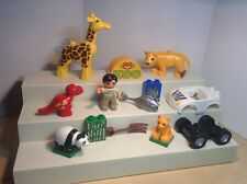 LEGO DUPLO replacement parts ZOO keeper figure + many Accessories & Animals