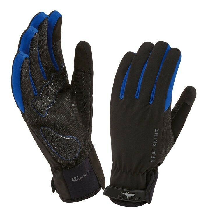 Sealskinz All Weather Cycle Handschuhe - schwarz blau