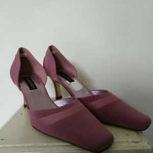 JACQUES-VERT-PINK-OCCASION-SHOES-SIZE-5-1-2-WEDDING-CRUISE-FORMAL
