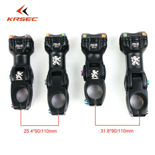 EC90 MTB Bike Carbon Fiber Handlebar 25.4//31.8mm Flat//Riser Bar Stem Ajustable