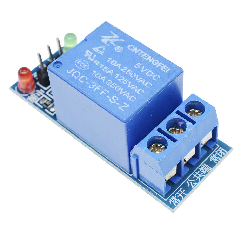 1 Channel 5V Relay Module Shield UNO Meage 2560 1280 ARM PIC AVR DSP for Arduino