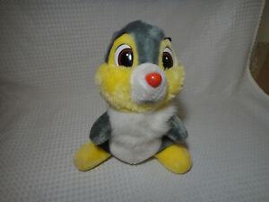 Vintage-Thumper-Bambi-Disneyland-Walt-Disney-World-Plush-Stuffed-Animal-Figure