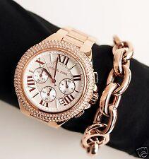 Original Michael Kors Uhr Damenuhr MK5636 CAMILLE CHRONO Farbe:Rosé Gold NEU