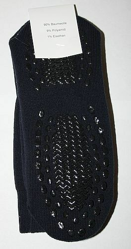 2 Paar Unisex Stoppersocken Anti Rutsch Socken ABS Socken marine 39-42 08111728