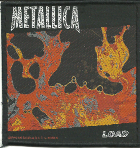 METALLICA-load-1997-WOVEN-SEW-ON-PATCH-official-merchandise-no-longer-made