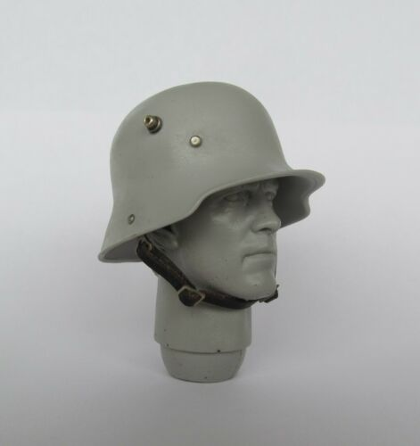 1:6 WW1 German Stahlhelm M16 Square Dip helmet  Custom made accessory