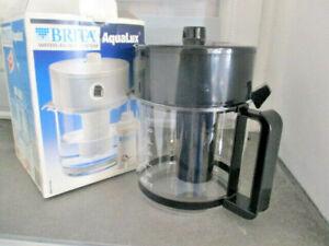BRITA AquaLux  Wasser-Filter-System  Kanne ( schwarz)  mit Kartusche  (k3)