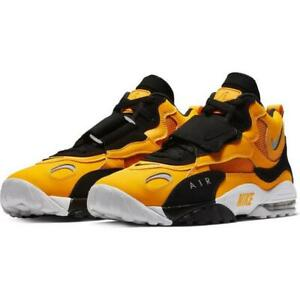 6596b81436 Nike Air Max Speed Turf Yellow Gold White Black BV1165-700 Men's ...