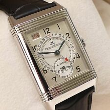 Jaeger LeCoultre Reverso Grand Taille 270.8.36 Day Date Handaufzug B&P aus 2003