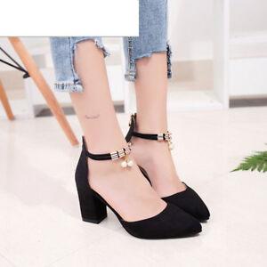 c8f4d298 Details about Zapatos de mujer Tacones altos Vestido Zapato Casual De Moda  Elegantes Nuevo
