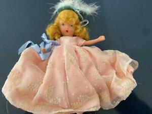 NASB Nancy Ann Storybook Bisque Doll 156 Beauty and Beast Fairyland FR Orig Box
