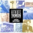 Virgil Thomson - Complete Songs of for Voice and Piano (2016)