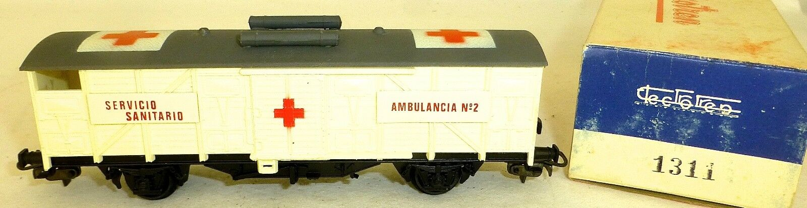 Servicio sanitario ambulancia no2 ELECTrossoREN 1311 h0 1 87 Å