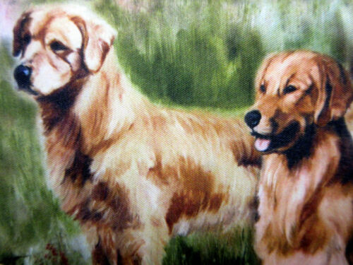 Golden Retriever Dog Check Book Wallet Ruth Maystead 3 Retrievers Dogs Free Ship