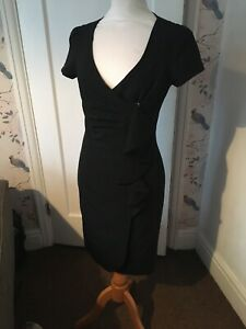 star-dress-julian-macdonald-size-10-Black-Wrap