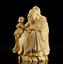 thumbnail 4 - 10*8*6cm Chinese Box-wood Hand Carving Taoism Immortal Lucky Fu God Statue 福星