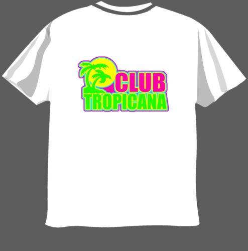 funny T-Shirt Men Ladies Gearge Micheal CLUB TROPICANA Wham