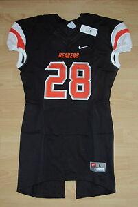 Authentic Nike Oregon State Beavers  28 Football Game Jersey Men s ... a1628ec3e