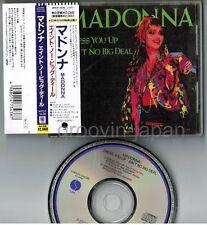 "MADONNA Dress You Up~Ain't No Big JAPAN 4-track 5"" CD SINGLE WPCP-3438 w/OBI"