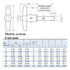 T-Type Schnellverschluss Kugelsperrbolzen Sicherungsbolzen für Luftfahrt