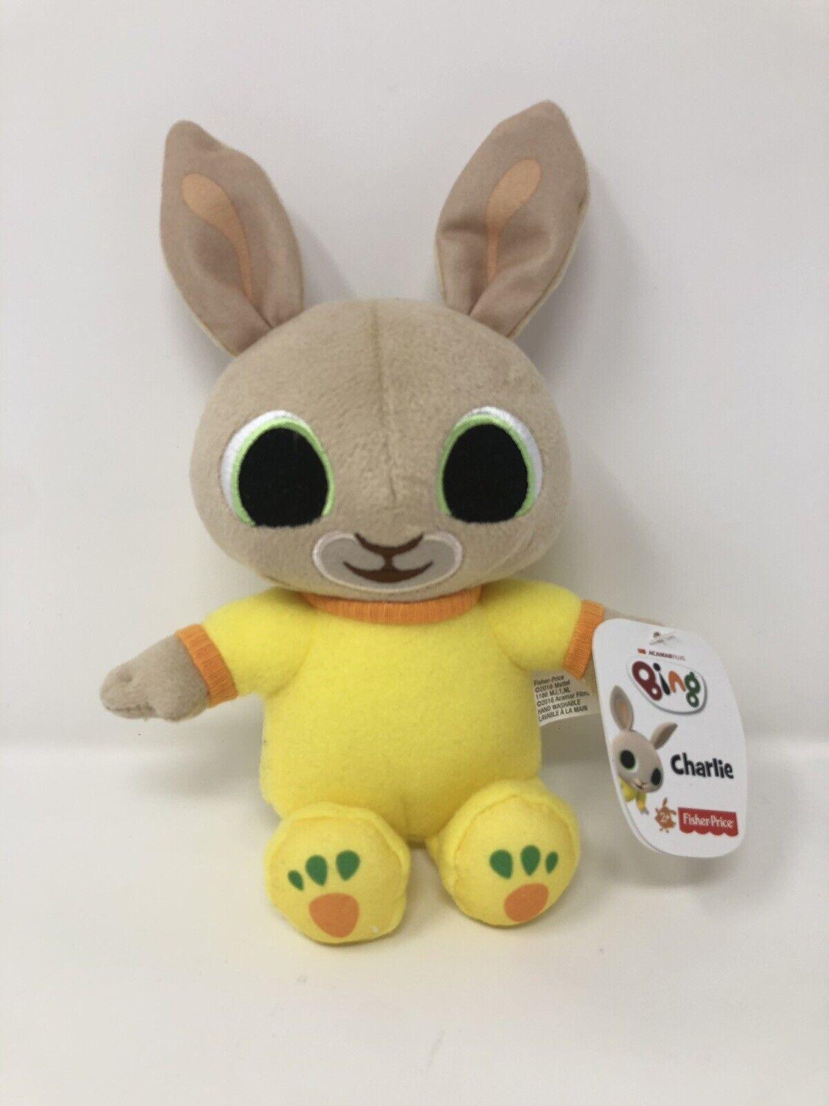 Fisher-Price RARE Bing Plush Toy Charlie Plush Toy - CBeebies - BRAND NEW