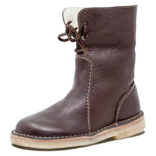 Round Head Women/'S Boots Short Tube Shoes Comfort Casual Lace-Up For Women SU