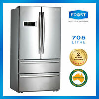Frost French Door Fridge 705l Stainless Dual Cooling 2017 Model 2yrs Warranty