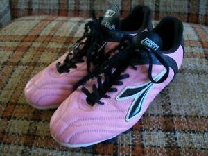 Details about Diadora Womens 9 (Eur 40 12) Pink Soccer Cleats