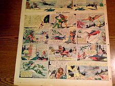 FLASH GORDON-ALEX RAYMOND RARE ORIGINAL 13TH FULL 04-01-1934-THUN RESCUES DALE