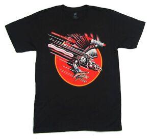Judas-Priest-Keep-The-Faith-Screaming-Vengeance-Black-T-Shirt-New-Official