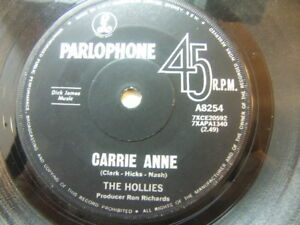The-Hollies-Carrie-Anne-1967-Australia-7-Parlophone-A-8254
