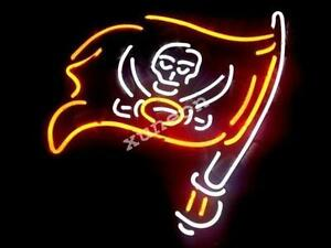 Image Is Loading Rare NFL Tampa Bay Buccaneers NEON SIGN BEER