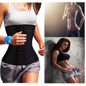 Women-Waist-Train-Cincher-Tummy-Gridle-Body-Shaper-Slimming-Belt-Corset-Trimmer