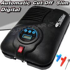 SWAC 5 Slim 12v Corte Automático Digital Coche Van en Bicicleta Neumático Compresor Inflador