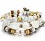 Boho-Multilayer-Natural-Stone-Bead-Tassel-Pendant-Chain-Bracelet-Charm-Women-Set thumbnail 26