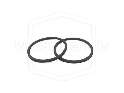 DTL200MkII Belt Kit For CD Player Carver DTL-200MkII 2 Belts