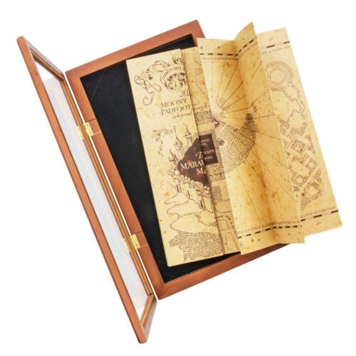 Harry Potter Karte des Rumtreibers Schaukasten